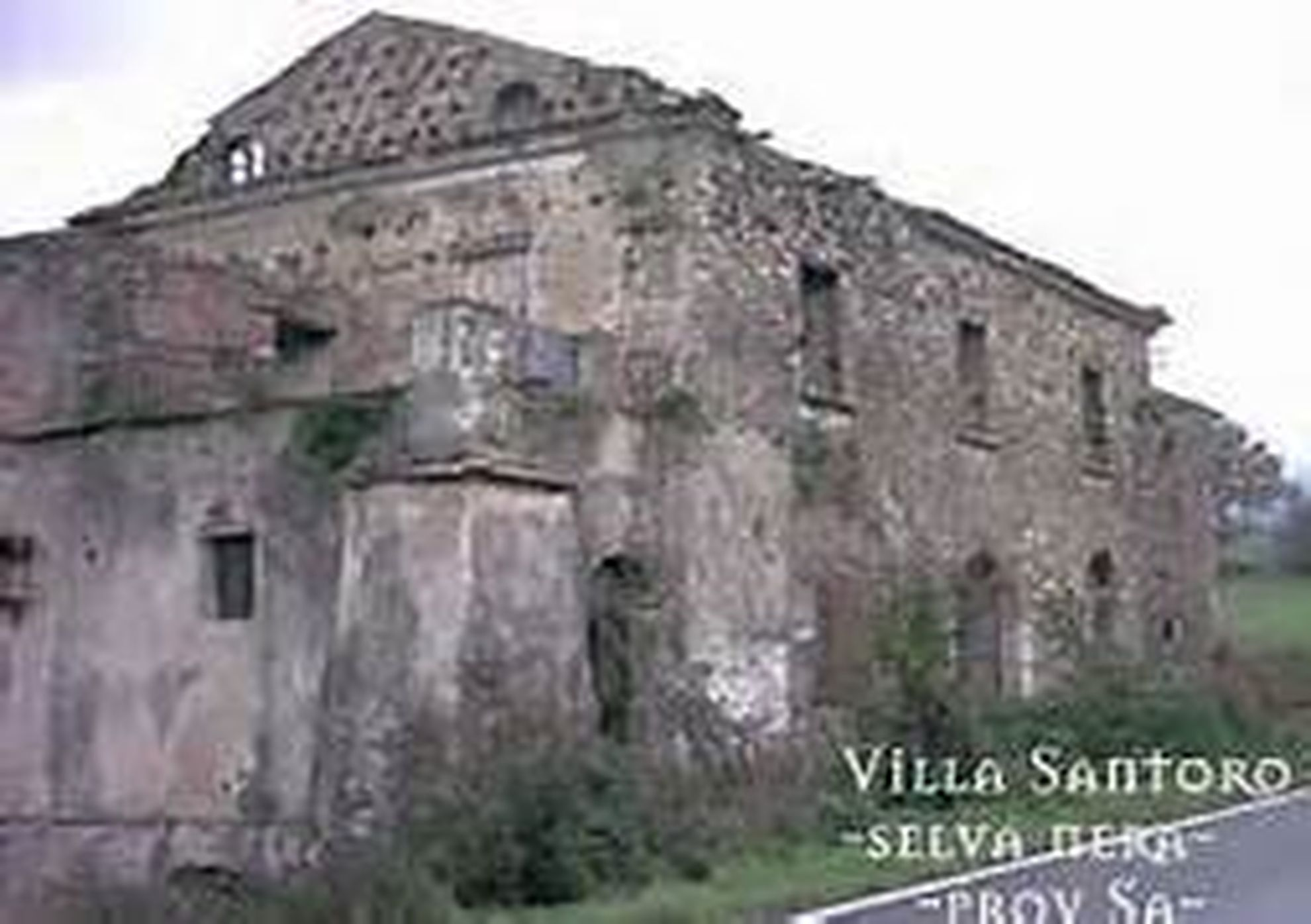 LA TERRIBILE LEGGENDA DI VILLA SANTORO