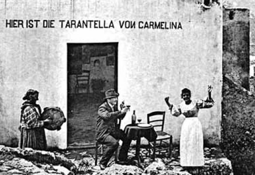 LA MAGICA TARANTELLA DI CARMELINA